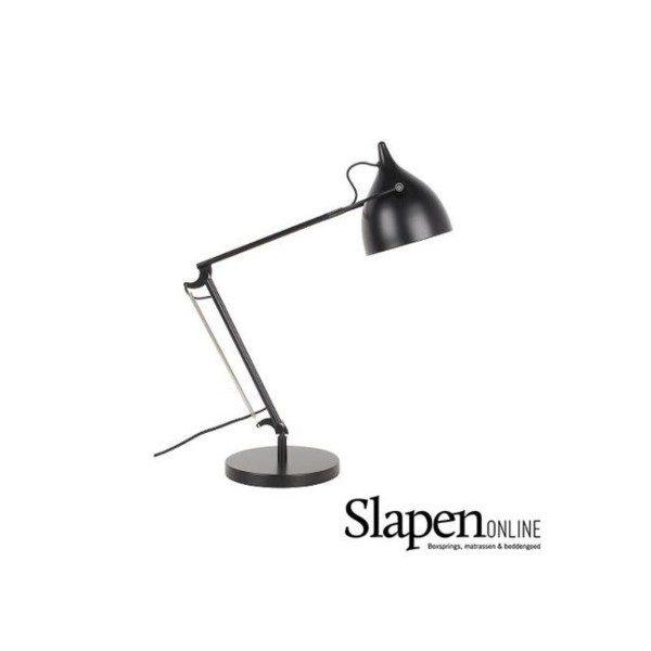 Bureaulamp zwart slapenonline