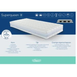 Van Landschoot matras Super Queen slapenonline 1