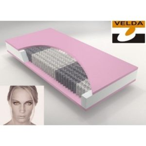 Velda matras Pocket 300 Visco anti-allergie slapenonline