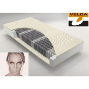 Velda matras pocket 300 latex anti-allergie slapenonline