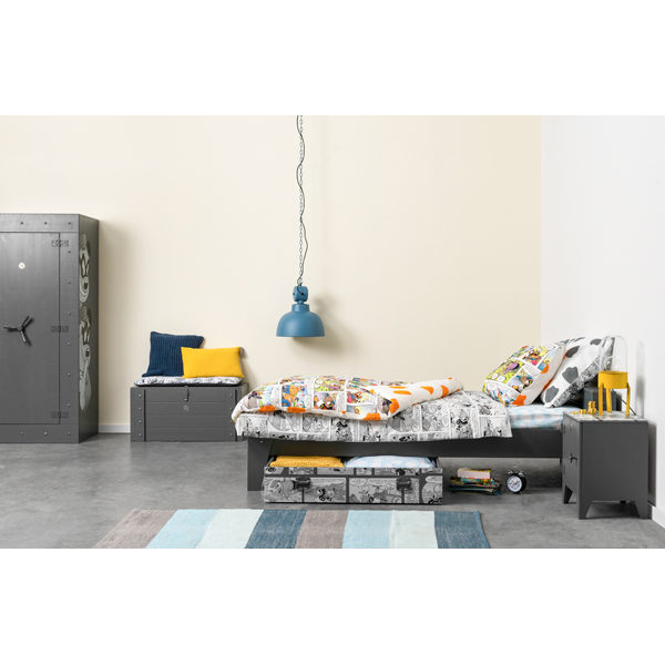 Overview Donald Duck Bed+bedlade
