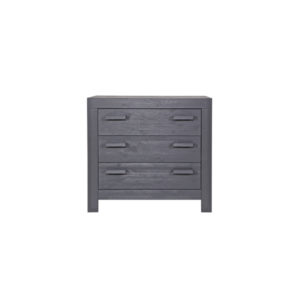 WOOOD New Life Commode Geborsteld Steel Grey