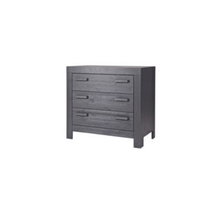 WOOOD New Life Commode Geborsteld Steel Grey Slapenonline