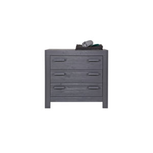 WOOOD New Life Commode Geborsteld Steel Grey Slapen Online