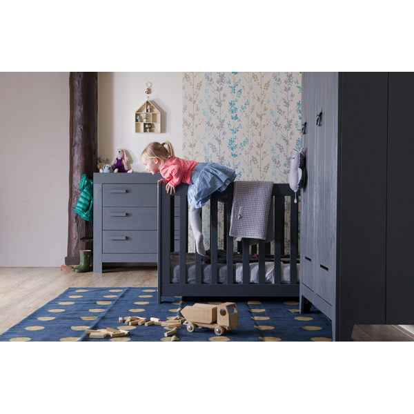 WOOOD New Life Commode Geborsteld Steel Grey Slapen Online Kinderkamer