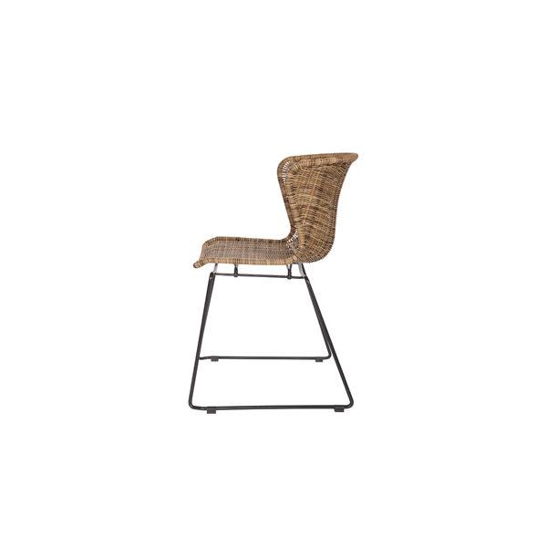 WOOOD Wings stoel naturel set van 2 slapenonline
