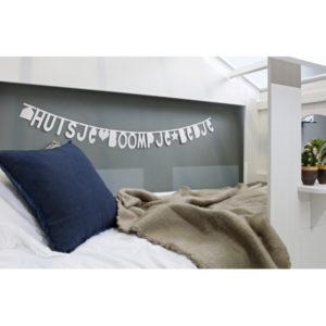 WooodHuisie bedstee wit, excl bedladen sfeer detail