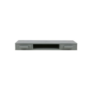 WOOOD Sale Dennis Wandpalletkast Steel Grey