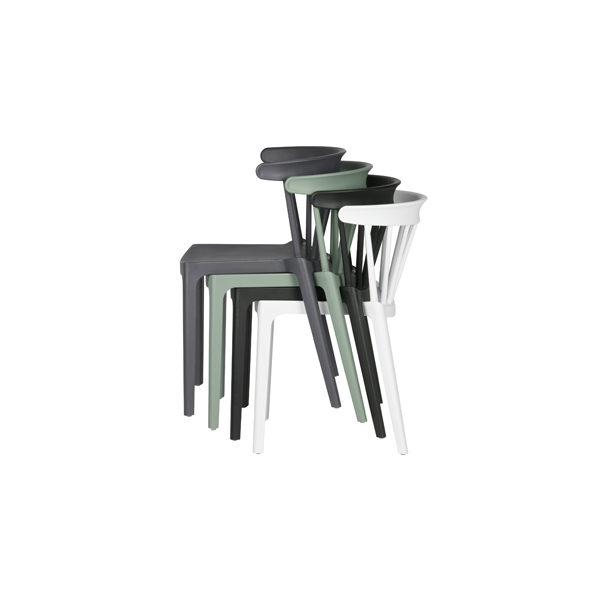 Slapenonline stapelbare stoel