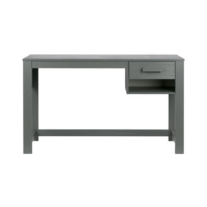 WOOOD Dennis Bureau (jr) Steel Grey Geborsteld