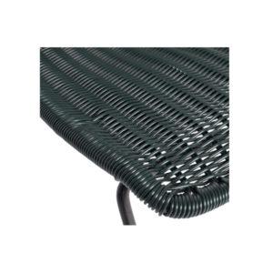 WOOOD Wings stoel flesgroen set van 2 detail slapenonline