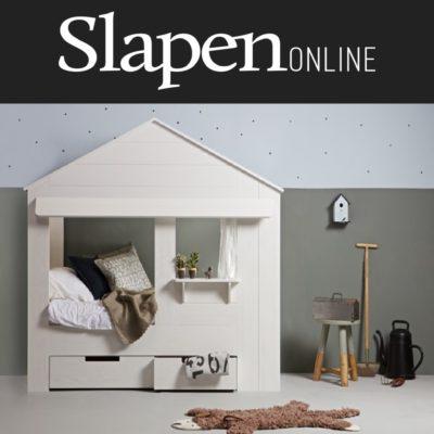 Een huisje als kinderbed - Slapen Online