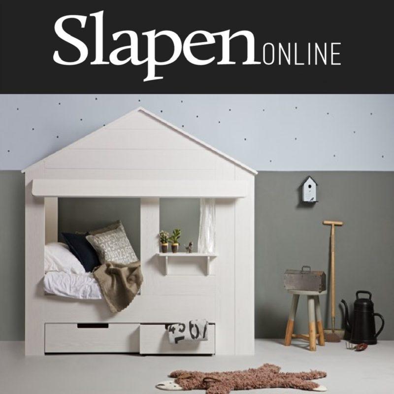 Kinderbed Met Huisje.Een Huisje Als Kinderbed Slapen Online Een Droom Van Ieder Kind
