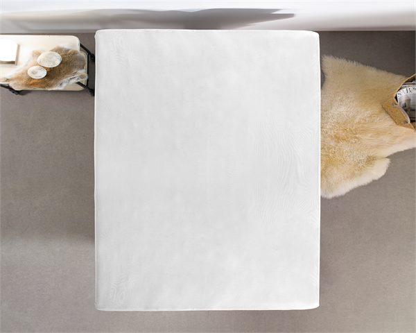 Hoeslaken Jersey 135 gr. White