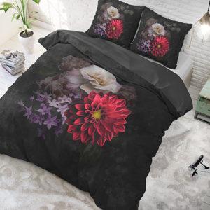 Elegant Flower Anthracite