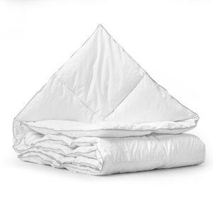 Velvet Half Dons Enkel Dekbed White