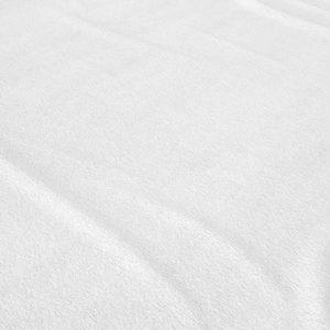 Laken Flanel 150g. White