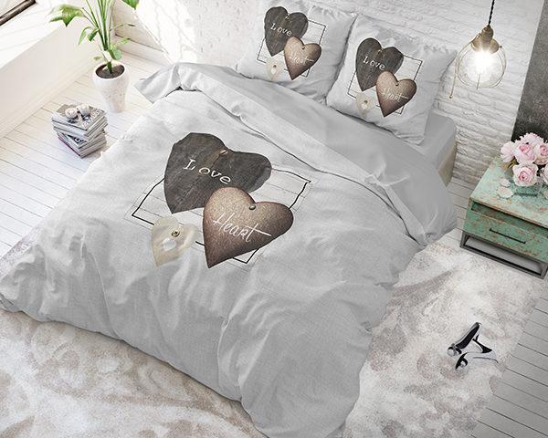 Love Hearts Grey