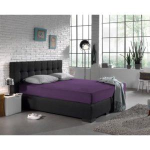 Hoeslaken Jersey 135 gr. Purple