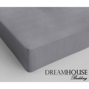 Dreamhouse Bedding Katoen Hoeslaken Grey