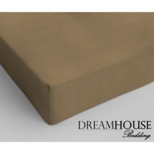 Dreamhouse Bedding Katoen Hoeslaken Taupe