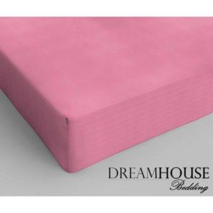 Dreamhouse Bedding Katoen Hoeslaken Pink