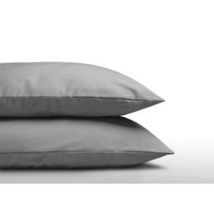 Katoenen Kussenslopen (2 in 1) Grey