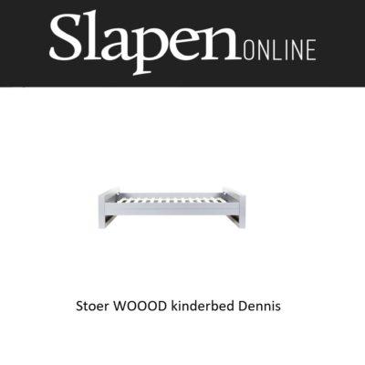 Stoer WOOOD kinderbed slapenonline