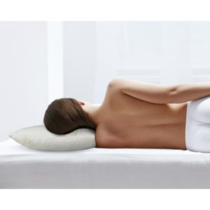 Bamboo Memory Foam Pillow White