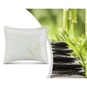 Swiss Bamboo Memory Foam Pillow White